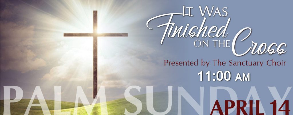 Palm Sunday 2019 - website banner
